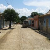 Our street in Chalan, Colombia.