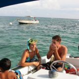 Snorkelling in Belize