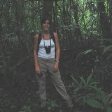 Raenelle in jungle