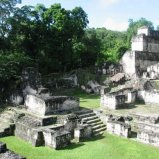 Tikal living quarters