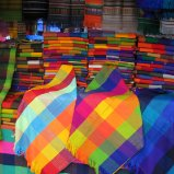 Colourful textiles