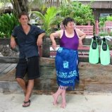 Robin and Noreen in Belize