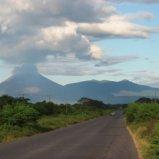 Volcanoes near Leon